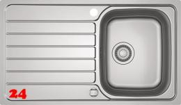FRANKE Küchenspüle Spark SKX 211 Einbauspüle Slimtop / Flächenbündig mit Drehknopfventil