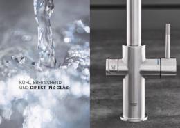 {Lager} GROHE Blue Home U-Auslauf Starter Kit (31456000) Küchenarmatur mit Trinkwasserfilterfunktion