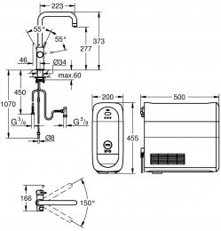 GROHE Blue Home U-Auslauf Starter Kit (31456DC0)