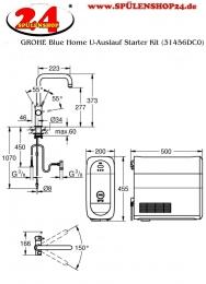 GROHE Blue Home U-Auslauf Starter Kit (31456DC1)