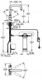 GROHE Blue Pure U-Auslauf Starter Kit (31299001)