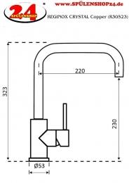 REGINOX CRYSTAL Copper (R30523)
