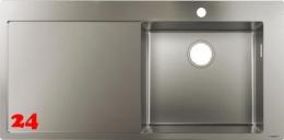 HANSGROHE S715-F450 Einbauspüle 450 mit Abtropffläche