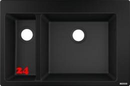HANSGROHE S51 S510-F635 Granitspüle 180/450