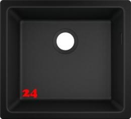 HANSGROHE S51 S510-U450 Granit-Unterbauspüle 450-UB