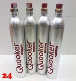 QUOOKER CUBE CO2-Zylinder Set (4 Stück)