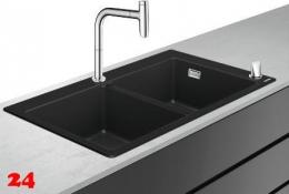 HANSGROHE C51 C51-F770-10 Granit Spülencombi (43221000) 370/370