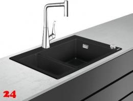 HANSGROHE C51 C51-F635-04 Granit Spülencombi (43215000) 180/450 Select