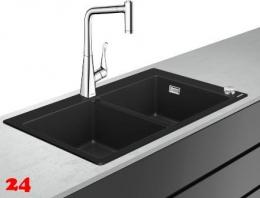 HANSGROHE C51 C51-F770-05 Granit Spülencombi (43216000) 370/370 Select