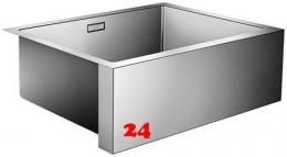 BLANCO Küchenspüle Cronos XL 6-IF Edelstahl Spülstein mit Ablaufsystem InFino und Handbetätigung