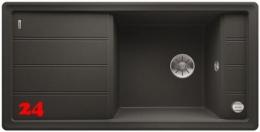 BLANCO Faron XL 6-S Silgranit® PuraDur®II Granitspüle / Einbauspüle Ablaufsystem InFino mit Drehknopfventil