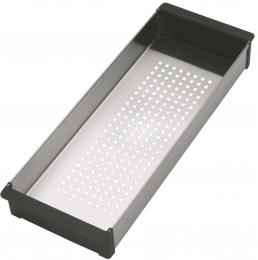 FRANKE Küchenspüle Box Center BWX 220-54-27 A Slimtop / Flächenbündig mit Druckknopfventil