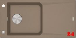 FRANKE Küchenspüle FX FXG 611-100 Fragranit+ Einbauspüle / Granitspüle mit Druckknopfventil