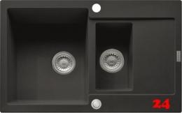 FRANKE Küchenspüle Maris MRG 651-78 Fragranit+ Einbauspüle / Granitspüle mit Druckknopfventil