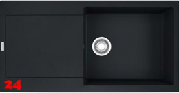 FRANKE Küchenspüle Maris MRG 611-100 XL Fragranit+ Einbauspüle / Granitspüle mit Druckknopfventil