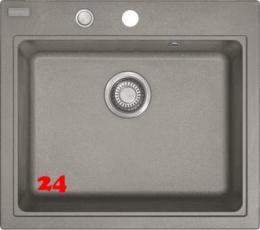 FRANKE Küchenspüle Maris MRG 610-58 Fragranit+ Einbauspüle / Granitspüle mit Druckknopfventil