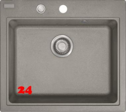 FRANKE Küchenspüle Maris MRG 210-58 Fragranit+ Einbauspüle / Granitspüle Flächenbündig mit Druckknopfventil