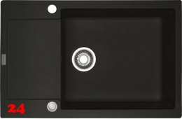 FRANKE Küchenspüle Maris MRG 611-78 XL Fragranit+ Einbauspüle / Granitspüle mit Druckknopfventil