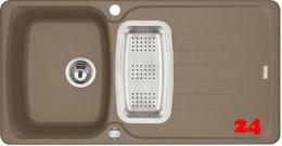 FRANKE Küchenspüle Antea AZG 651 Fragranit+ Einbauspüle / Granitspüle mit Drehknopfventil