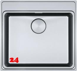FRAMES BY FRANKE FSX 210 A TPL Slimtop / Flächenbündig Siebkorb als Druckknopfventil