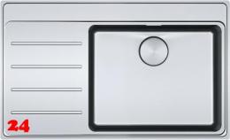 FRAMES BY FRANKE Küchenspüle FSX 211 A TPL Einbauspüle Slimtop / Flächenbündig mit Druckknopfventil