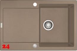 FRANKE Küchenspüle Maris MRG 611-78 Fragranit+ Einbauspüle / Granitspüle mit Druckknopfventil