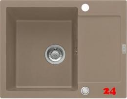 FRANKE Küchenspüle Maris MRG 611-62 Fragranit+ Einbauspüle / Granitspüle mit Druckknopfventil