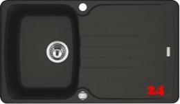 FRANKE Küchenspüle Antea AZG 611-86 Fragranit+ Einbauspüle / Granitspüle mit Drehknopfventil