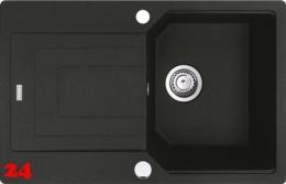 FRANKE Küchenspüle Urban UBG 611-78 Fragranit+ Einbauspüle / Granitspüle Flächenbündig mit Drehknopfventil