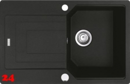 FRANKE Urban UBG 611-78 Fragranit+ Einbauspüle / Granitspüle mit Drehknopfventil