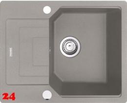 x FRANKE Küchenspüle Urban UBG 611-62 Fragranit+ Einbauspüle / Granitspüle Flächenbündig mit Drehknopfventil