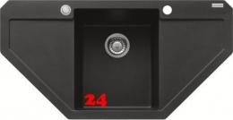 FRANKE Küchenspüle Maris MRG 612-E Fragranit+ Eckspüle / Granitspüle mit Druckknopfventil