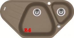 FRANKE Küchenspüle Antea AZG 661-E Fragranit+ Eckspüle / Granitspüle mit Drehknopfventil