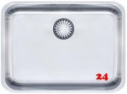 FRANKE Küchenspüle Epos EOX 110-50/35-UB  Unterbauspüle mit Druckknopfventil