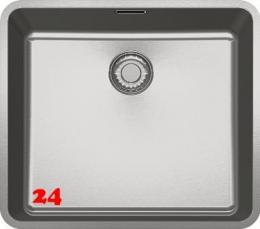 FRANKE Küchenspüle Kubus KBX 110-45-UB  Unterbauspüle mit Druckknopfventil
