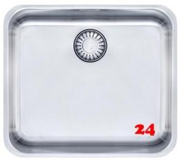 FRANKE Küchenspüle Epos EOX 110-45-UB  Unterbauspüle mit Druckknopfventil