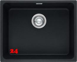 FRANKE Küchenspüle Kubus KBG 110-50-UB Fragranit+ Granitspüle / Unterbauspüle mit Druckknopfventil
