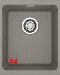 FRANKE Küchenspüle Kubus KBG 110-34-UB Fragranit+ Granitspüle / Unterbauspüle mit Druckknopfventil