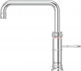 QUOOKER CLASSIC FUSION Square PRO3 mit CUBE *Der Wasserhahn, der alles kann! (3CFSCHRCUBE)