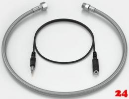 QUOOKER Verlängerungsset Flex, Fusion, Nordic verschiedene Länge (nur kochendwasserseitig)
