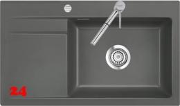 Systemceram KeraDomo STEMA 86 SL-PREMIUM Keramikspüle / Einbauspüle in Sonderfarben für die Küche