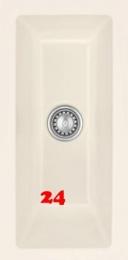 Systemceram KeraDomo MERA 16 U PREMIUM Keramikspüle / Unterbauspüle in 8 Sonderfarben für die Küche