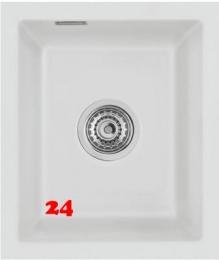 Systemceram KeraDomo MERA 32 U BASIC Keramikspüle / Unterbauspüle in 7 Standardfarben für die Küche