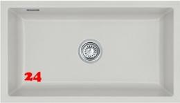 Systemceram KeraDomo MERA 80 U BASIC Keramikspüle / Unterbauspüle in 7 Standardfarben für die Küche