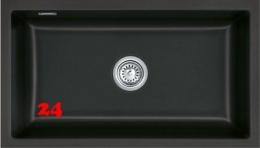 Systemceram KeraDomo MERA 80 U PREMIUM Keramikspüle / Unterbauspüle in 8 Sonderfarben für die Küche