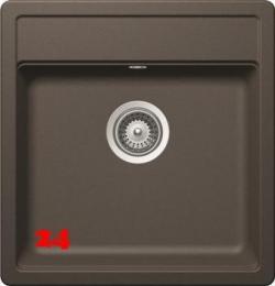 SCHOCK Küchenspüle Nemo N-100S Cristalite® Golden Line Granitspüle / Einbauspüle in 4 Farben mit Drehexcenter