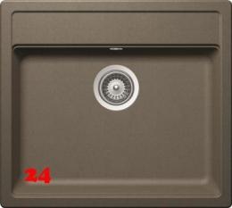 SCHOCK Küchenspüle Nemo N-100 Cristalite® Golden Line Granitspüle / Einbauspüle in 4 Farben mit Drehexcenter