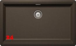 SCHOCK Küchenspüle Greenwich N-100XL Cristadur® Nano-Granitspüle / Einbauspüle in 4 Farben mit Drehexcenter