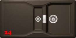 SCHOCK Küchenspüle Kyoto D-150 Cristadur® Nano-Granitspüle / Einbauspüle in 8 Farben mit Drehexcenter