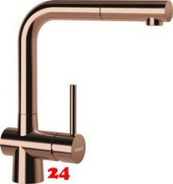 SCHOCK Küchenarmatur Laios SB Copper Einhebelmischer Oberfläche: Kupferfarben mit Zugauslauf
